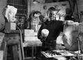 John Roberts at his King's Cross Studio 1995 Photograph by John Millar.png