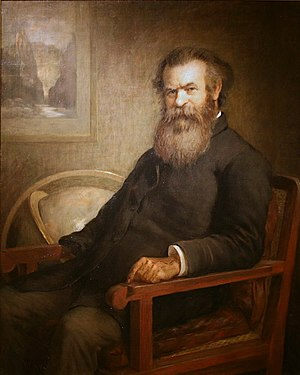 John Wesley Powell - Powell as he appears at the National Portrait Gallery in Washington, D.C.