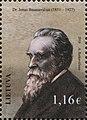 Jonas Basanavičius 2016 stamp of Lithuania.jpg