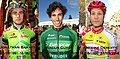 Jonathan Baratto (27 septembre 1991 - 12 juin 2015), Romain Guyot (9 octobre 1992 - 3 mars 2016) & Antoine Demoitié (16 octobre 1990 - 27 mars 2016).jpg
