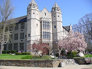 Youngstown State University - Jones Hall