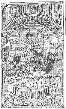 Etichetta de La Constancia, la distilleria di tequila di José Cuervo