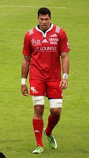 Joe Tuineau Fijian rugby union player