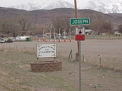 Joseph welcome sign