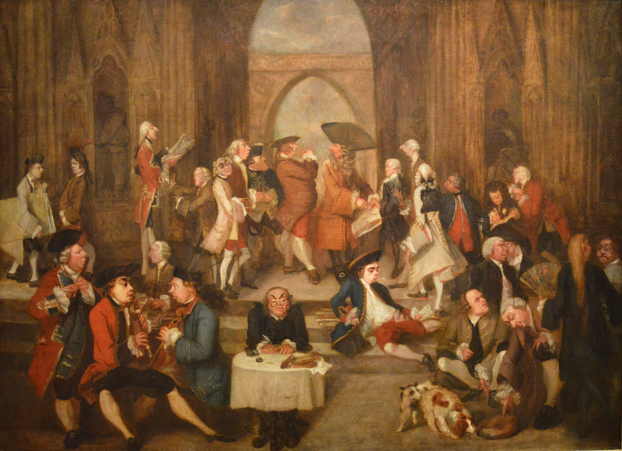 File:Joshua Reynolds - Parody of Raphael's 'School of Athens' (1751) - NGI  cr.png