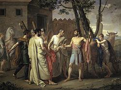 Juan Antonio de Ribera: Cincinnatus abandons the Plough to dictate Laws to Rome