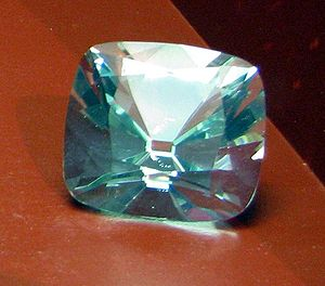Jubilee Diamond - A glass copy of the Jubilee Diamond