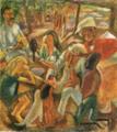 JulesPascin-1917-The Good Samaritan(Persons in Cuba).png