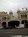 Juma Masjid Mosque - Madrassa Arcade on Dr. Yusuf Dadoo Str-20140222.jpg