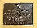 Junior School Plaque, Brisbane Boys' College 06.JPG