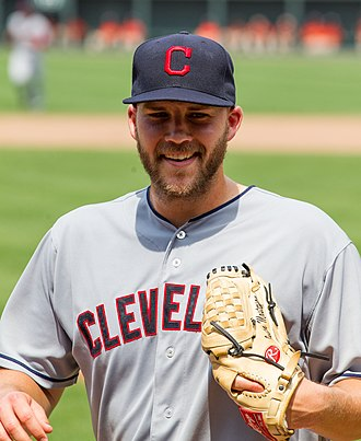 Justin Masterson - Masterson with the Indians in 2012