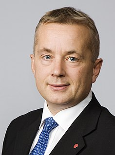 Knut Storberget Norwegian lawyer and politician