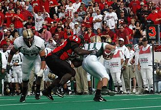 Baylor Bears football - Baylor Bears and Texas Tech Red Raiders in action in 2004