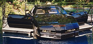 A modified 3rd generation Trans Am used as KITT