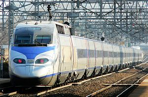 Korea Train Express - The TGV derived KTX-I