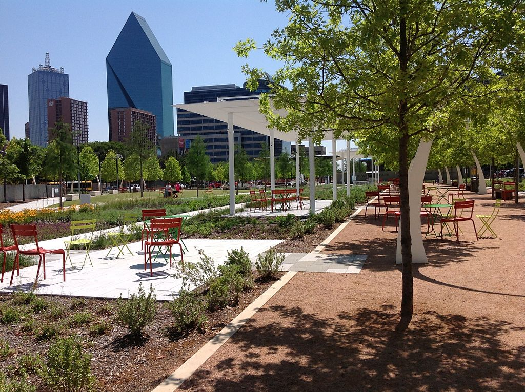 Klyde Warren Park - Gina Miller: Sports Culture in Dallas
