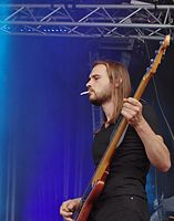 Kadavar (German Psychedelic Rock Band) (Krach Am Bach 2013) IMGP8812 smial wp.jpg