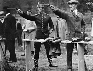 Shooting at the 1912 Summer Olympics – Mens 30 metre rapid fire pistol Olympic shooting event