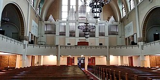 Kallio Church - Image: Kallio Church organ