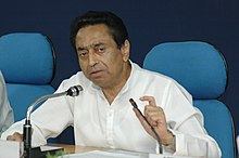 Kamal Nath briefing the media on the recent meeting of the World Trade Organisation (WTO) under the Doha Round of multilateral trade negotiations, in New Delhi on July 25, 2006 (1).jpg