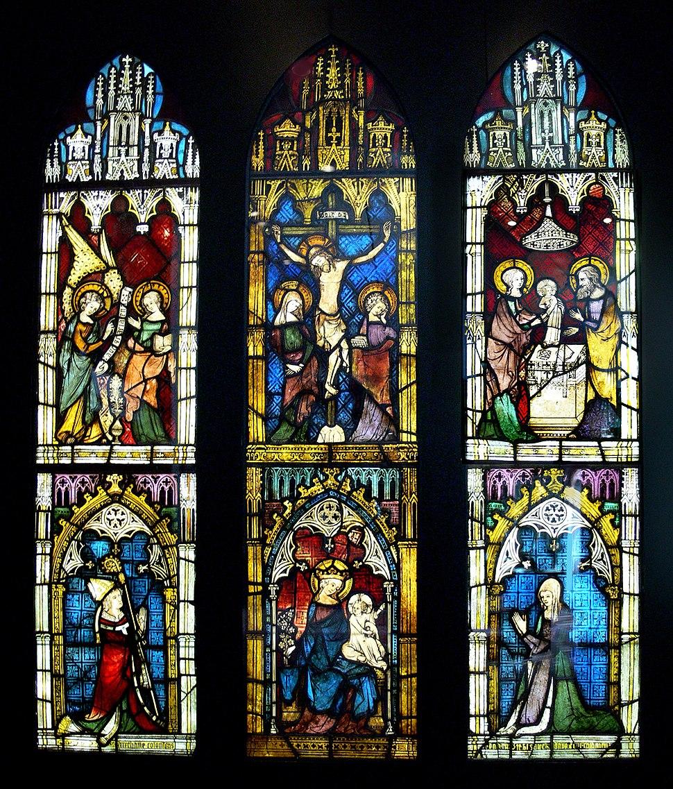 Kapellenfenster Köln um 1340 KGM paste