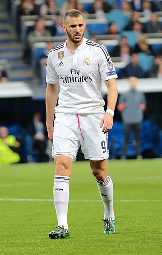 Karim Benzema - Benzema playing for Real Madrid in 2015