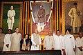 Kariya Munda, the Leader of Opposition in Rajya Sabha, Shri Arun Jaitley, the Leader of Opposition in Lok Sabha, Smt. Sushma Swaraj, the Chairman of the BJP Parliamentary Party.jpg