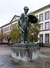 Karlsruhe, Skulptur -Pallas Athene- -- 2013 -- 5269.jpg