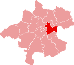 Bezirk Linz-Land location map