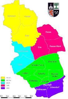 Herne Karte Stadtteile.Stadtteile In Gelsenkirchen Wikipedia