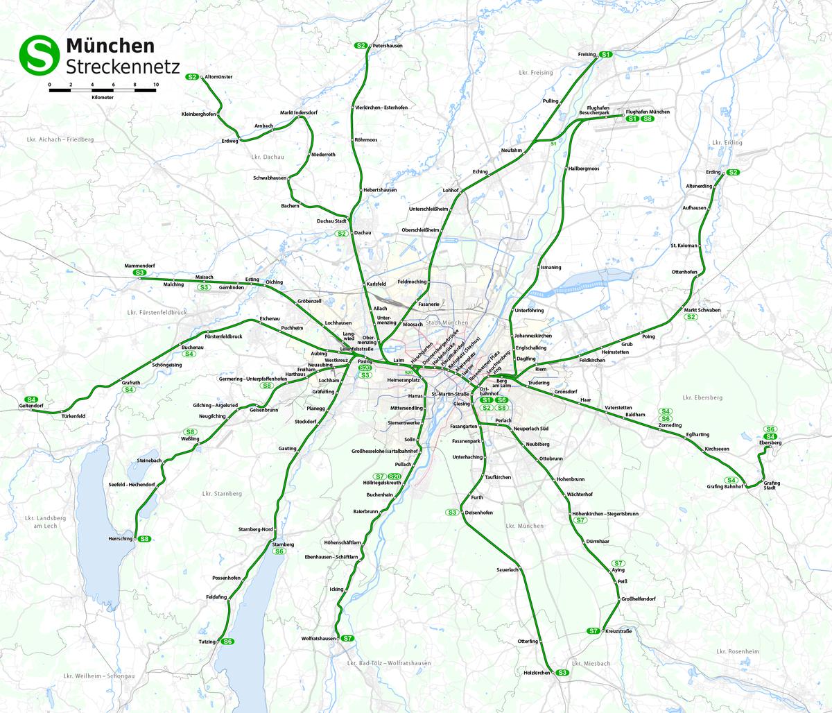 Liste Der Stationen Der S Bahn München Wikipedia