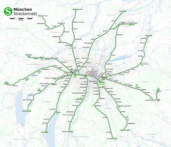 Передвижение по-баварски или транспорт Мюнхена.