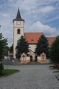 Kasejovice kostel svatého Jakuba.JPG