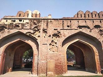 Kashmiri Gate, Delhi - One of the fourteen gateways of the city of Shahjahanabad