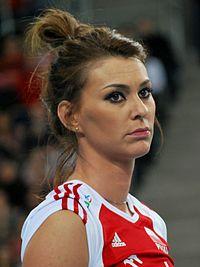 Katarzyna Skowrońska-Dolata 03 - FIVB World Championship European Qualification Women Łódź January 2014.jpg