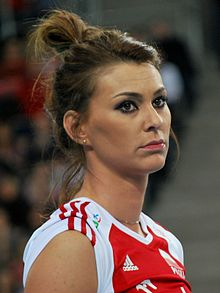 Katarzyna Skowrońska-Dolata 03 - FIVB World Championship European Qualification Women Łódź January 2014.jpg