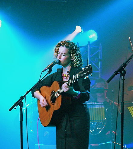Kate Rusby on stage in 2005 Kate Rusby live.jpg