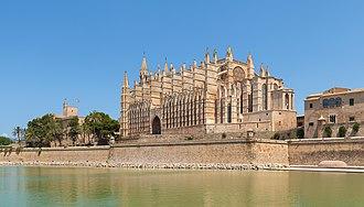 """Palma Cathedral - """"La Seu"""" Cathedral of Palma"""