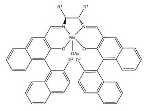 Jacobsen epoxidation