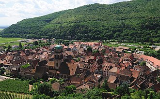 Kaysersberg - The town seen from its castle
