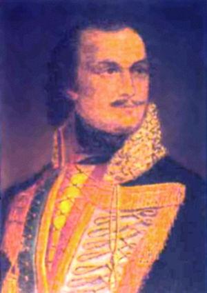 Polish American Museum - Portrait of Kazimierz Pułaski at the Museum