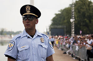 Police uniforms of the United States - Image: Keeping the peace