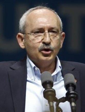2014 Turkish local elections - Image: Kemal Kılıçdaroğlu VOA (cropped)