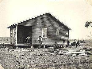 Soldier settlement (Australia) - Settler's Cottage - Kentucky, New South Wales Soldier Settlement Estate