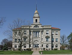 Keokuk County, Iowa Courthouse