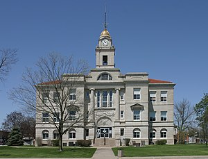 National Register of Historic Places listings in Keokuk County, Iowa - Image: Keokuk County, Iowa Courthouse