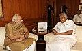 Kerala CM Oomen Chandy calls meets PM Modi on 3 June 2014.jpg