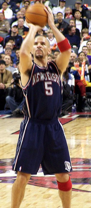 2002 NBA Finals - Jason Kidd, New Jersey's prized acquisition in the summer of 2001.