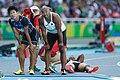 Kim Kuk-young and Brijesh Lawrence Rio 2016.jpg