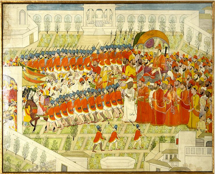 File:King and his army, National Museum, New Delhi.jpg